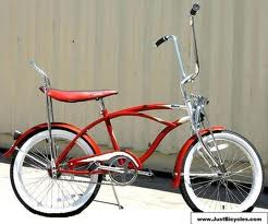 red banana bicycle