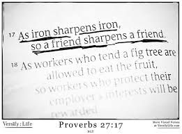 iron Proverbs 27-17